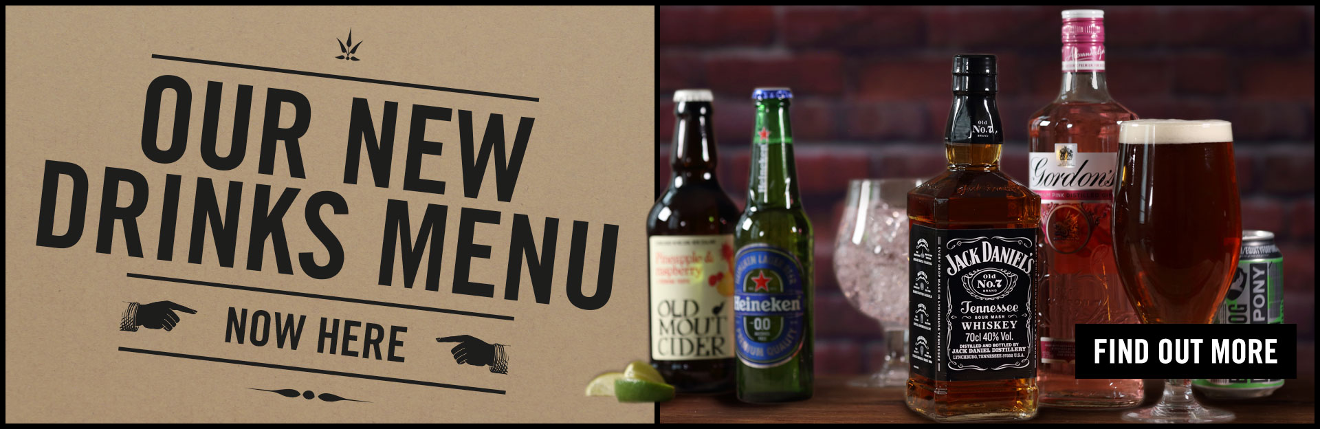 New Drinks Menu Coming Soon at The Bull