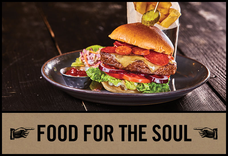 Food for the soul at The Bull